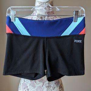 Victoria Secret PINK Black Ultimate Yoga Shorts